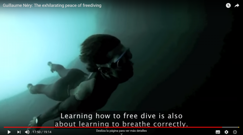 Guillaume Néry: The exhilarating peace of freediving (2013)