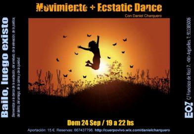 24/09/2017: Movimiento + Ecstatic dance (Daniel Charquero)