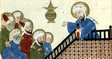 Mahoma enseñando