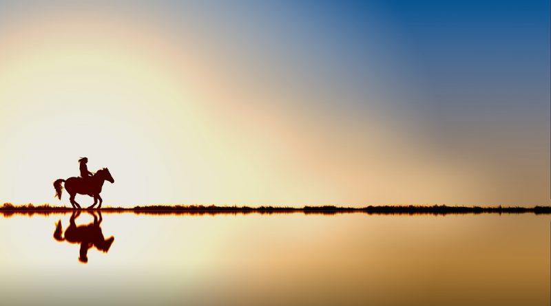 Trotando hacia el horizonte