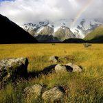 Arcoiris en el valle