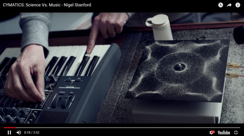 Cymatics - science vs music (Nigel Stanford)