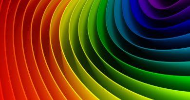 Envolvente concéntrica multicolor
