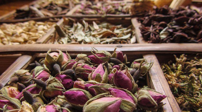 Flores secas de Marrakech (Fuente: pixabay.com - bir)