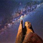 Mirando hacia la Vía Láctea