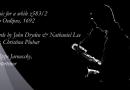 Improvisaciones sobre Purcell «Music for a while» Philippe Jaroussky (L'Arpeggiata)