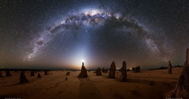 Pinnacles Galaxy (NASA, Goh)