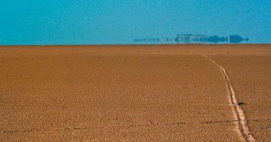 espejismo en el Sahara (fuente: gde-fon.com)