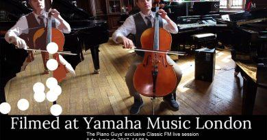 Bach interpretado al violonchelo (The Piano Guys)