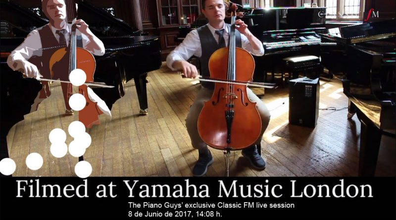 Bach interpretado al violonchelo (The Piano Guys)