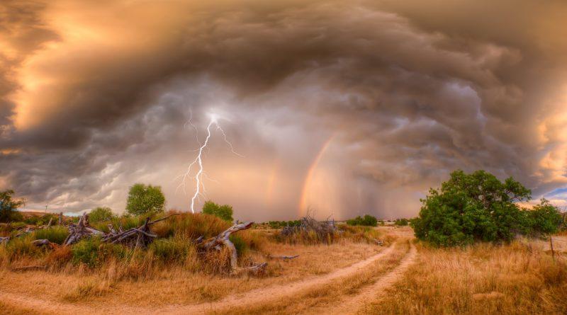 Tormenta arcoiris