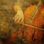 Interpretando al violonchelo